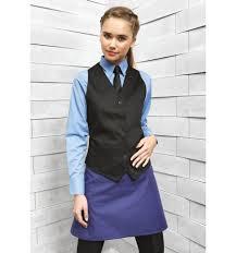 cuisine femme vêtements hôtellerie restauration cuisine gilet de serveuse de