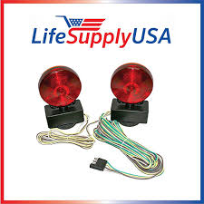 amazon com easy install magnetic towing trailer light tail lights