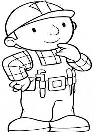 how to draw bob the builder coloring page coloring sun