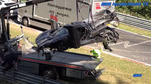 koenigsegg crash koenigsegg one 1 driver released from hospital after nurburgring crash