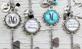 my monogram necklace kraftychix up to 75 groupon