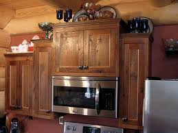 Custom Rustic Kitchen Cabinets  Barn Wood Furniture Rustic - Rustic kitchen cabinet