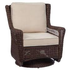Hton Bay Swivel Patio Chairs Outdoor Lounge Chairs Patio Chairs The Home Depot