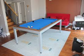 fusion pool table dining table combination dining room decoration