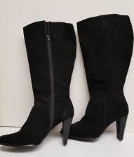 womens boots size 11w womens black boots size 11w ebay