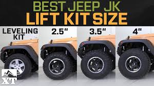 lift kits for jeep wrangler jeep wrangler jk leveling kit vs 2 5 vs 3 5 vs 4 how to