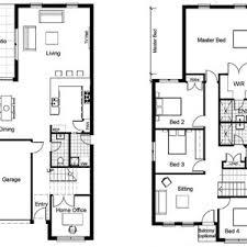 modern 2 story house plans bedroom open floor plan elegant perfect design house plans master