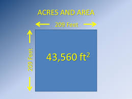 Square Feet Calc How Big Is An Acre 43 560 Square Feet Ppt Video Online Download