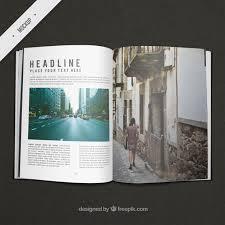 free resume template layout majalah png background effects indesign travel magazine mockup psd file free download
