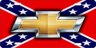 Rebel Flag Ford Rebel Chevy Symbol