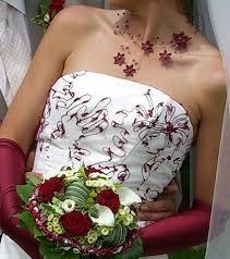 occasion mariage de mariée pas cher ivoire bordeaux occasion du mariage