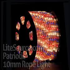shop wholesale patriotic clear blue rope light at litesource