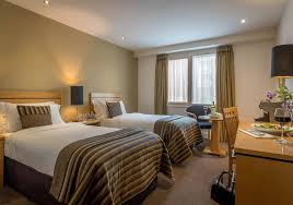 Twin Bedroom Hotel Accommodation Dublin City Centre Grand Canal Hotel