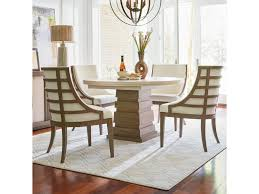 universal synchronicity 5 piece round table and chair set