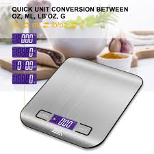 amazon com toplus digital kitchen scale food scale