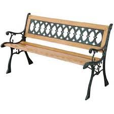 panchine legno panchina eldorado ghisa e legno c101208009