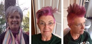 pre chemo bold mother asks for a fun hair transformation before chemo treatment