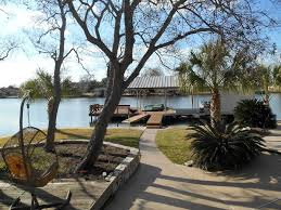 Deck In The Backyard Waterfront Family Friendly Gated Home Locat Vrbo