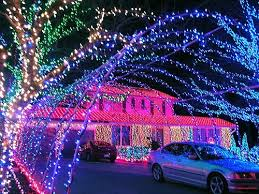 Pink Purple Blue Christmas Decorations by 12 Homes With Serious Christmas Decorations Mental Floss