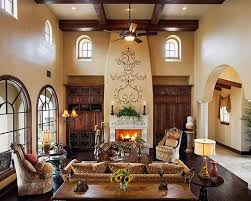Best Spanish Revival Style Images On Pinterest Spanish - Spanish living room design