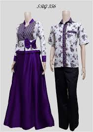 model baju trend baju batik untuk hari raya