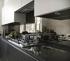 Mirror Backsplash Kitchen Boscolo High End Luxury Interior Designers In London Property