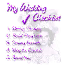 wedding preparation for a wedding plan and wedding preparation schedule 2013