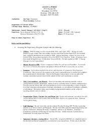 Psw Sample Resume by Alice U0027s Admin Resume