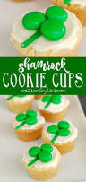 shamrock cookie cups a simple sugar cookie recipe jazzed up for