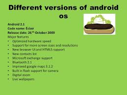 android os releases android
