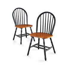 Oak Table With Windsor Back Chairs Better Homes And Gardens Autumn Lane Windsor Chairs Set Of 2