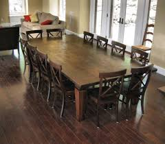 Tables Dining Room 12 Seat Dining Room Table That Brilliant Seats 18 Leandrocortese