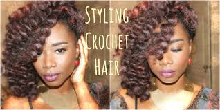 styling crochet hair perm rods final thoughts youtube