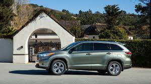 toyota highlander 2016 interior 2016 toyota highlander hybrid limited drive review with price