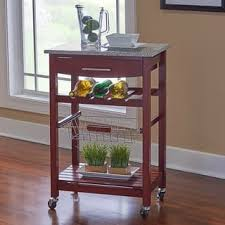 kitchen island cart granite top kitchen carts shop the best deals for nov 2017 overstock
