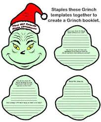 grinch stole christmas worksheets free grinch worksheets new