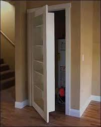 Cool Closet Doors Create Storage Intrigue With A Secret Door Closet