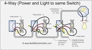 4 way switch pilot light wiring diagram brake light switch wiring