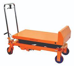 hydraulic scissor lift and tilt table cart 1100 lb tf50f