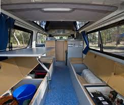camper van layout high top campervan hire australia travellers autobarn