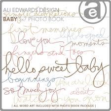 5x7 Photo Book Ali Edwards Design Inc Blog Simple Celebrations 5x7 Baby Photo