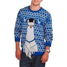 hanukkah llama s sweater walmart