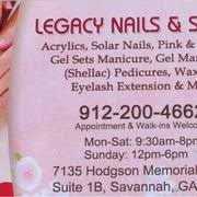 legacy nail u0026 spa 27 photos u0026 10 reviews nail salons 7135