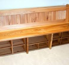 Outdoor Storage Bench Seat Plans by Diy Bedroom Storage Bench Seat Elegant Storage Bench With Seat