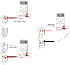 series batteries dc circuits electronics textbook