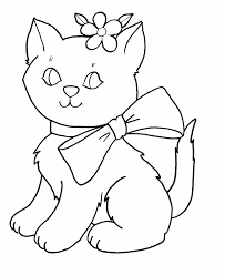 coloring pages cats kids design gallery 5259 unknown