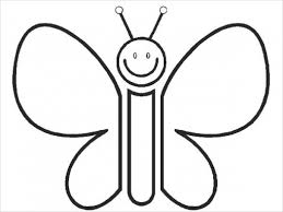 9 butterfly coloring pages free premium templates regarding