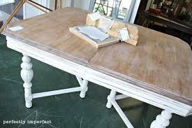 brilliant design whitewash kitchen table awesome white washed