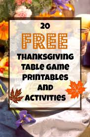 65 best thanksgiving activities printables images on