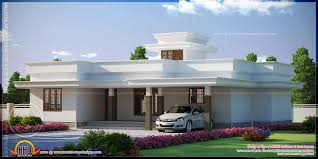 flat roof contemporary home kerala design house plans 75042 cool